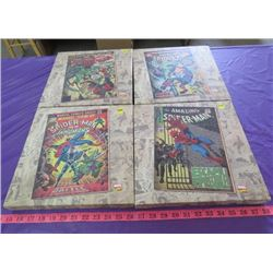 LOT OF 4 SPIDERMAN PICTURES
