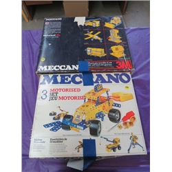 LOT OF 2 MECCANO BUILDING SETS (RIPPED BOX)