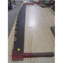 "2 MAN WOOD SAW (66"" X 13"")"