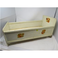 """DOLL BED ( 24"""" X 11.5"""" X 12"""")"""