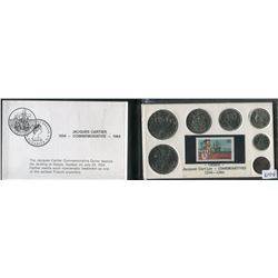 COIN AND STAMP SET WITH COMMEMORATIVE DOLLAR (CANADA) *1534-1984*
