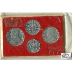 VATICAN COIN SET (1947)