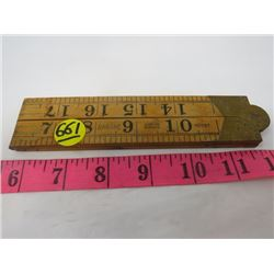 WOOD TAPE MEASURE (2 FOOT)