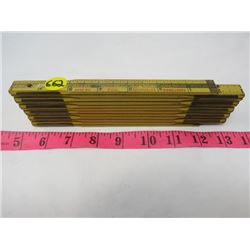 WOOD TAPE MEASURE (6 FOOT)