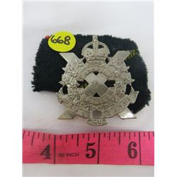 BADGE (CANADIAN SCOTTISH REGIMENT)