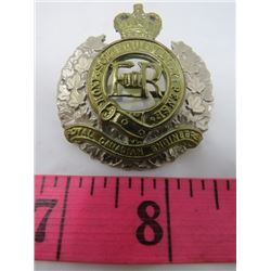 BADGE (ROYAL CANADIAN ENGINEERS REGIMENT)