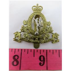 BADGE (ROYAL CANADIAN CORPS OF SIGNALS REGIMENT)