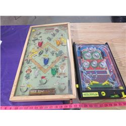 LOT OF 2 SMALL PINBALL GAMES