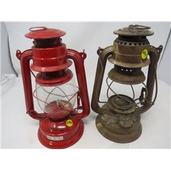 LOT OF 2 LANTERNS (FEVERHAND NO. 277 AND NO BOUNDARIES)