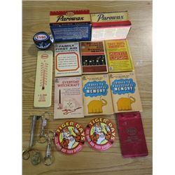 LOT OF ESSO ITEMS