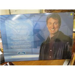 WAYNE GRETZKY FORD PICTURE