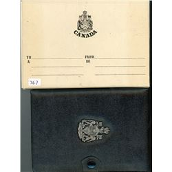 PROOF SET (CANADIAN) *1973* (7 COINS) *WALLET TYPE DISPLAY CASE*