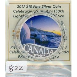 TEN DOLLAR COIN (CANADIAN) *2017* (PEGGY'S COVE)