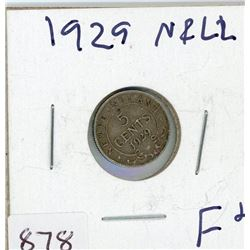 FIVE CENT COIN (CANADIAN) *1929* (SILVER)