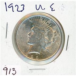 ONE DOLLAR COIN (USA) *1923* (SILVER)