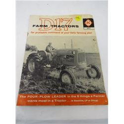 CATALOGUE (D17 FARM TRACTORS)