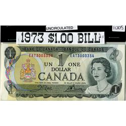 ONE DOLLAR BANK NOTE (CANADIAN) *1973*