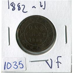 ONE CENT COIN (CANADA) *1882* (LARGE)