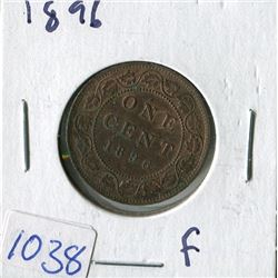 ONE CENT COIN (CANADA) *1896* (LARGE)