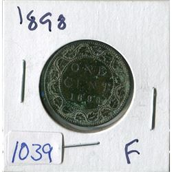 ONE CENT COIN (CANADA) *1898* (LARGE)