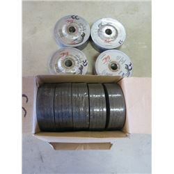 LOT OF 10 PACKAGES OF GRINDER WHEELS (METAL)