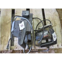 BELT SANDER AND JIGSAW (BLACK & DECKER)