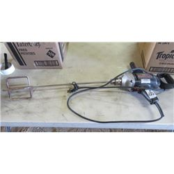 "ELECTRIC DRILL (CRAFTSMAN) *1/2""* (REVERSABLE) *WITH MIXING UNIT*"