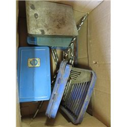 RADIAL SAW MOLDING CUTTER HEAD AND DRILL BIT SET