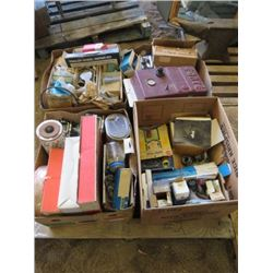 LOT OF AUTO PARTS (FILTERS, GASKETS, TUBING, BRAKES, ETC)