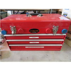 TOOL BOX (3 DRAWER) *CONTENTS INCLUDED*