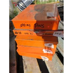 LOT OF SCREWS, WHEEL BOLTS, SPRING PINS (H. POULIN & CO LIMITED)