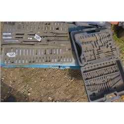 LOT OF SOCKETS AND DRILL BITS