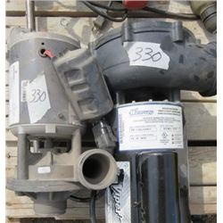 LOT OF 2 ELECTRIC PUMPS