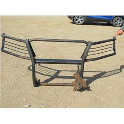 PUSH BAR FOR AN OLDER FORD F350 (WITH 2 SETS OF BRACKETS)