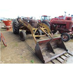 W6 TRACTOR (COMES WITH FRONT END LOADER, HAS POWER STEERING)