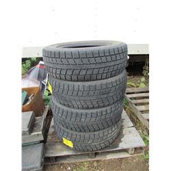 """LOT OF FOUR (4) TOYO 225-65-17 """"OBSERVE GS1-5"""""""