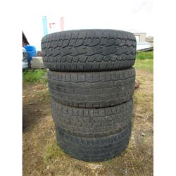 """LOT OF 3 COOPER 275-60-20 """"DISCOVER AT3"""" & 1 TOYO 275-60-20 """"A/T OPEN COUNTRY"""""""