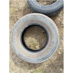 LOT OF FOUR (4) ASSORTED TIRES - SEE DESCRIPTION AND PHOTOS