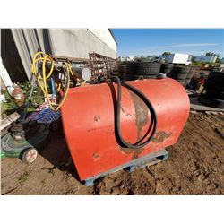 125 GALLON FUEL TANK, COMES WITH ELECTRIC PUMP