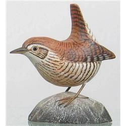 Miniature winter wren by Jess Blackstone, Concord
