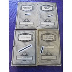 LOT OF NATIONAL RADIO INSTITUTE MANUALS (SERVICE MANUAL-14 CIRCUIT DIAGRAMS, TRANSMISSION LINES AND