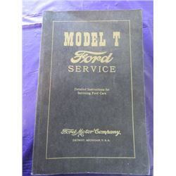 MODEL T FORD SERVICE GUIDE