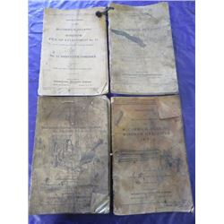 LOT OF MCCORMICK-DEERING MANUALS (HARVESTER THRESHER, WINDROW PICKUP ATTACHMENTS, ETC...
