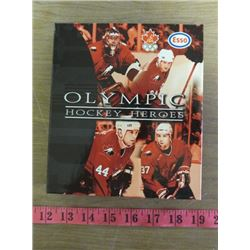 OLYMIC HOCKEY HEROES *ESSO* (WEEK 1 TO 6) *1998* (AUTOGRAPHED PAGE #57 GERALDINE HEANEY)