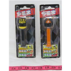 LOT OF 2 PEZ CANDY DISPENSORS (NASCAR COLLECTABLES)