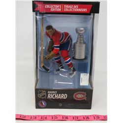 HOCKEY COLLECTABLE (MACFARLANE TOYS) *MAURICE RICHARD* (OFFICIAL NHL)