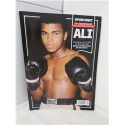 SPORTSNET MAGAZINE (50TH ANNIVERSARY COLLECTORS EDITION) *MUHAMMED ALI*