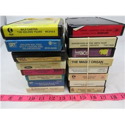LOT OF ASSORTED 8-TRACKS