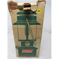 "COLEMAN LANTERN ""SAFE, QUIET, DEPENDABLE LIGHTING"""