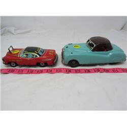 LOT OF 2 VEHICLES (FIRE DEPARTMENT & TEAL CAR)